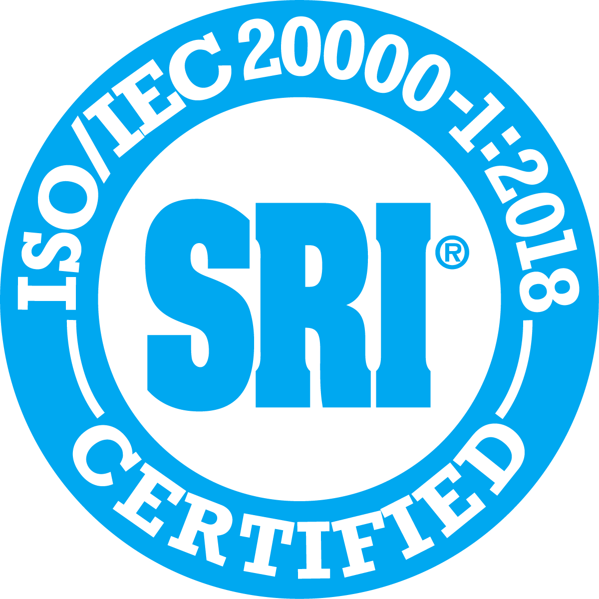 ISO 20000-1 Certified